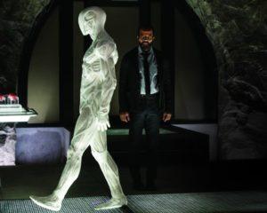 Jeffrey Wright interprets Bernard Lowe